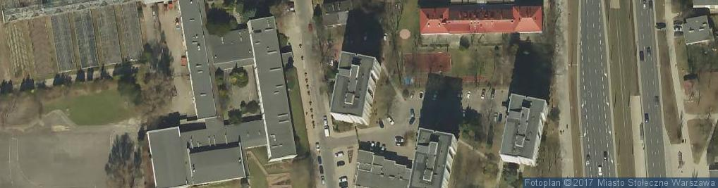 Zdjęcie satelitarne Pracownia Bielizny Koszule Męskie Miarowe Walentyna