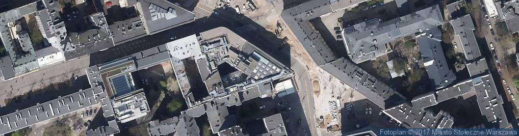 Zdjęcie satelitarne Pracownia Kuśnierska