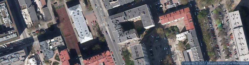 Zdjęcie satelitarne Pracownia Zegarmistrzowska