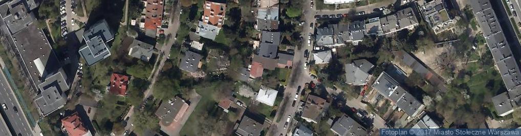 Zdjęcie satelitarne Praktyka Lekarska Agnieszka Guranowska