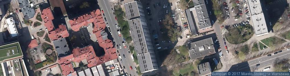 Zdjęcie satelitarne Praktyka Lekarska Łukasz Wałkuski