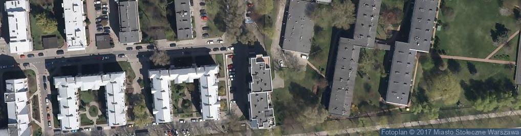 Zdjęcie satelitarne Profesionalne Studio Paznokci