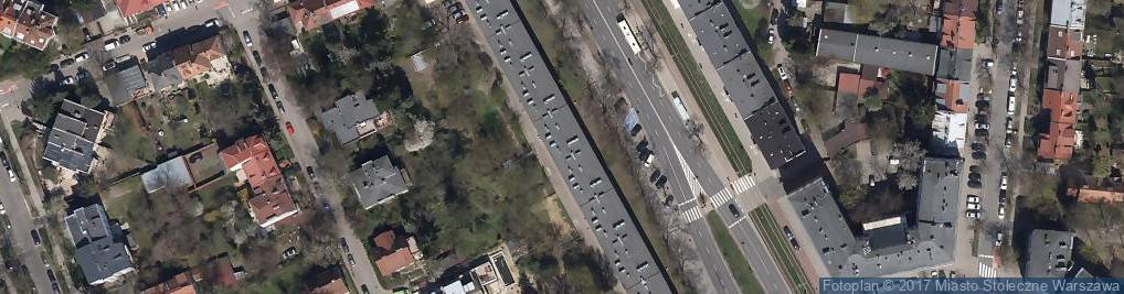 Zdjęcie satelitarne Prywatna Agencja Geograficzna K De Mezer Sobotkowska z Sobotkowski