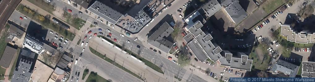 Zdjęcie satelitarne PZU S.A. Punkt Obsługi Klienta i Centrum Likwidacji Szkód Filia I w Warszawie