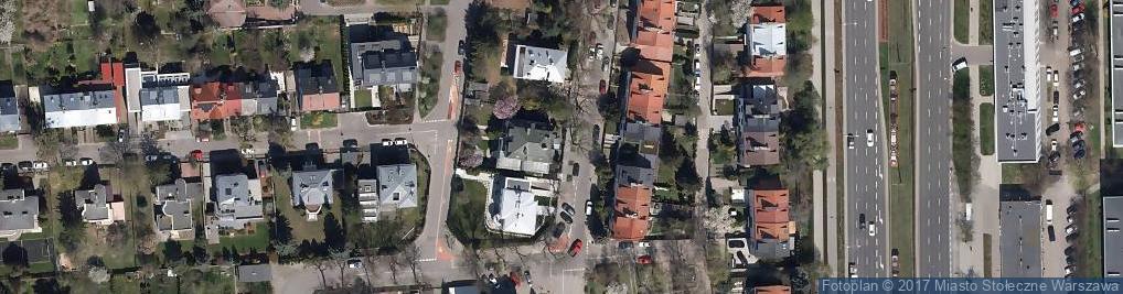 Zdjęcie satelitarne Rada Izby Notarialnej