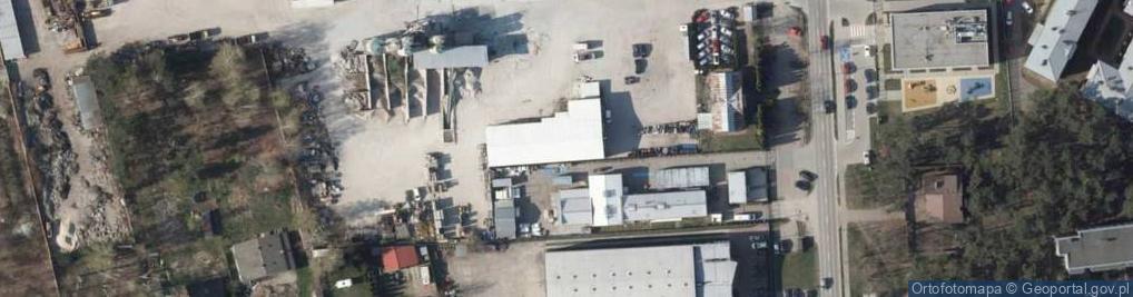 Zdjęcie satelitarne Regdos.EU Renata Sójka-Regdos