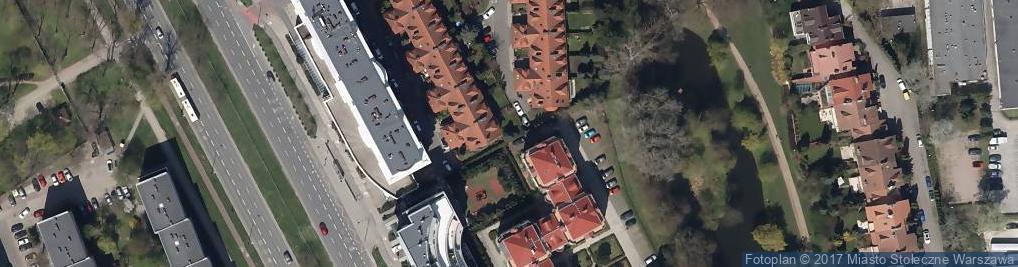 Zdjęcie satelitarne Reklamowa Grupa Produkcyjna Monika Skorykow