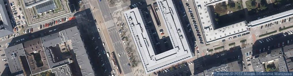 Zdjęcie satelitarne Sąd Rejonowy Dla Miasta Stołecznego Warszawy w Warszawie