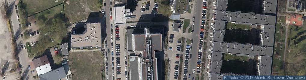 Zdjęcie satelitarne Sąd Rejonowy Dla Warszawy Pragi Północ w Warszawie
