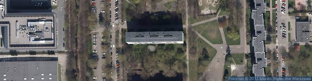 Zdjęcie satelitarne Scuola Dante Ewa Tarasek