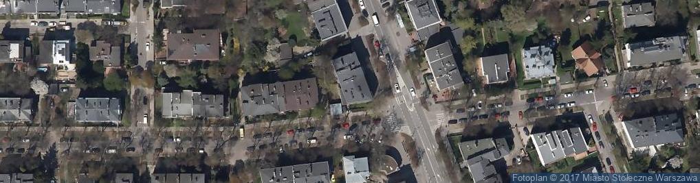 Zdjęcie satelitarne Sezamik Szczygieł Jacek Manowska Monika Dębek Stefan