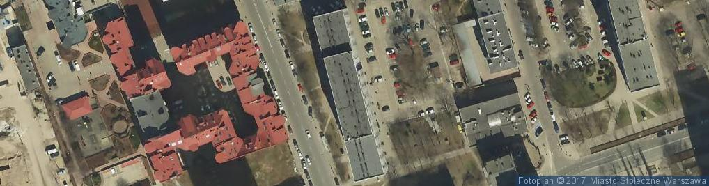Zdjęcie satelitarne Sofris