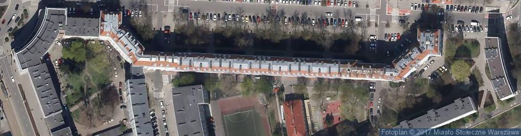 Zdjęcie satelitarne Specjalistyczne Porady Lekarskie w Miejscu Wezwania