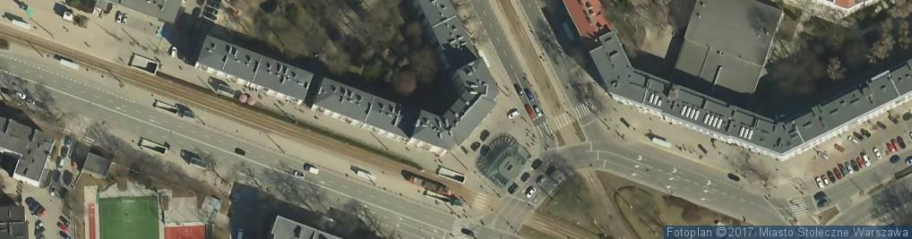 Zdjęcie satelitarne Specjalistyczny Gabinet Lekarski Wciórka Jacek