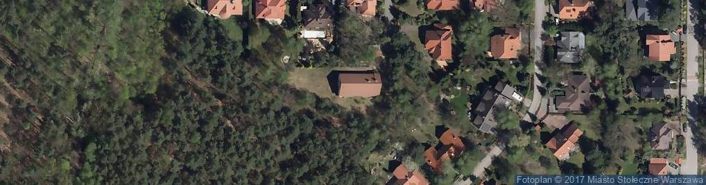 Zdjęcie satelitarne Spółdzielnia Budowlano Mieszkaniowa Domów Jednorodzinnych Verdom