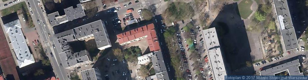 Zdjęcie satelitarne Spółdzielnia Mieszkaniowa Walicowo
