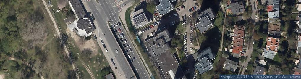 Zdjęcie satelitarne Spółdzielnia Mieszkaniowa Zwycięzców
