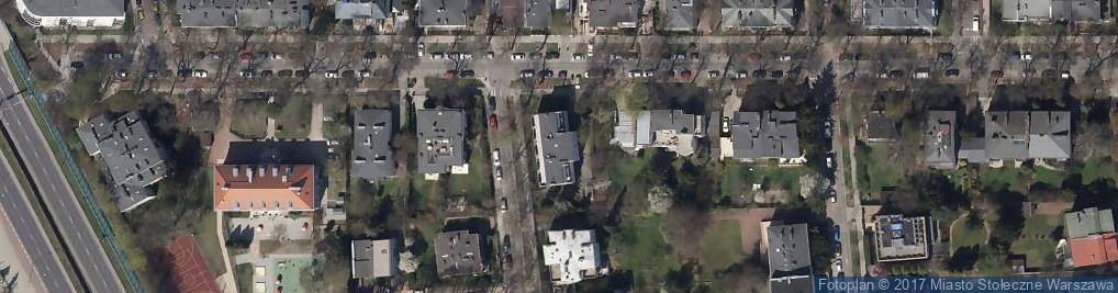 Zdjęcie satelitarne Spółdzielnia Wydawnicza Anagram