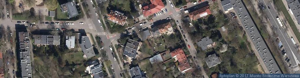 Zdjęcie satelitarne Sprzedaż Artykułów Ogólnospożywczych