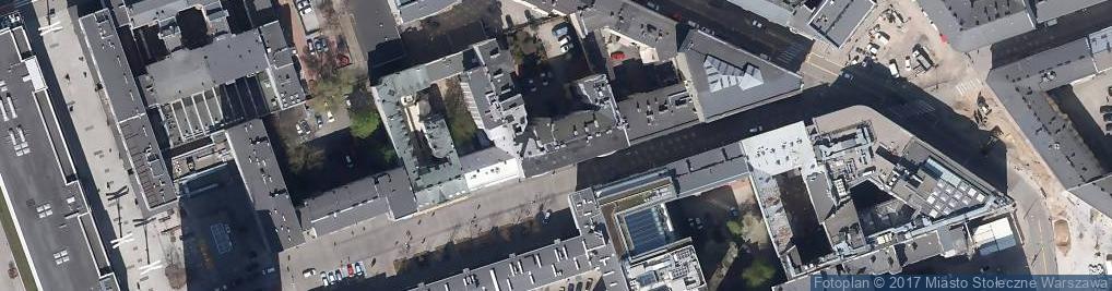 Zdjęcie satelitarne Sprzedaż Odzieży Obuwia Galanterii