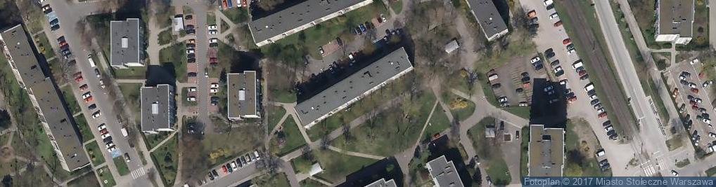 Zdjęcie satelitarne Sprzedaź Okręźna Art Spoźywczych i Przemysłowych