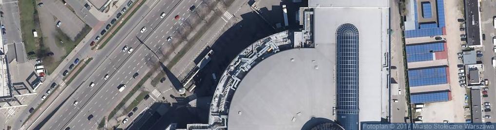 Zdjęcie satelitarne Squash City