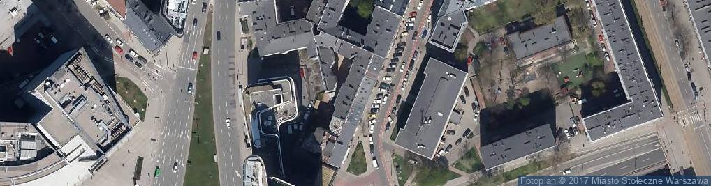Zdjęcie satelitarne ST Pielęgniarka
