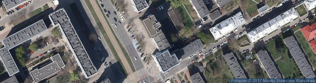 Zdjęcie satelitarne Stowarzyszenie Administratorów Bezpieczeństwa Informacji