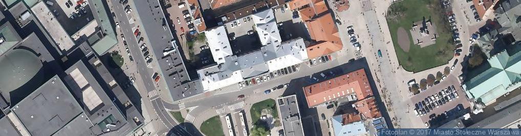 Zdjęcie satelitarne Stowarzyszenie Inteligentne Systemy Transportowe ITS Polska
