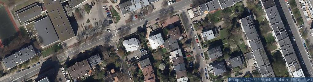 Zdjęcie satelitarne Stowarzyszenie Klub Świętego Huberta