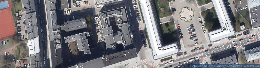 Zdjęcie satelitarne Stowarzyszenie Naukowo Techniczne Inżynie