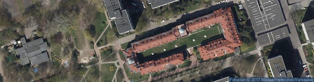 Zdjęcie satelitarne Stowarzyszenie Polskich Artystów Plastyków