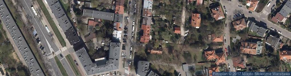 Zdjęcie satelitarne Stowarzyszenie Rzeczoznawców Technicznych Urządzeń Rozrywkowych