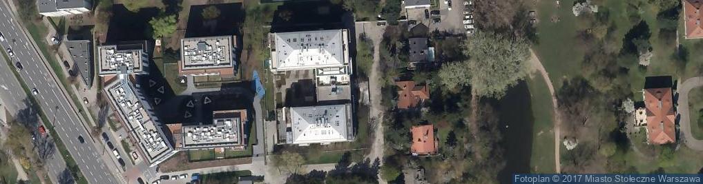 Zdjęcie satelitarne Stowarzyszenie Wzajemnej Pomocy Członków Legii Honorowej Sekcja Polska
