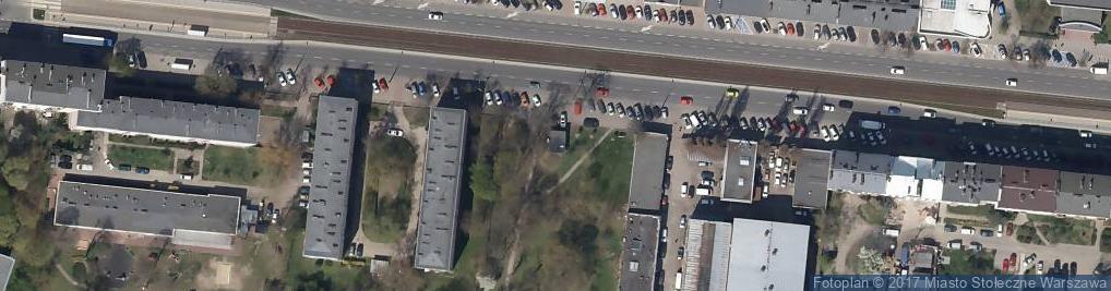 Zdjęcie satelitarne Strefa Szkła
