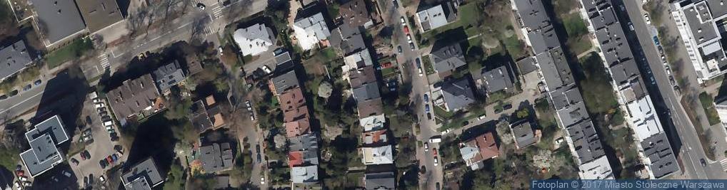 Zdjęcie satelitarne Studio Estetyka Paulina Biernacka