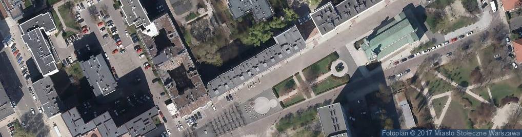 Zdjęcie satelitarne Studio GD Pracownia Perukarska