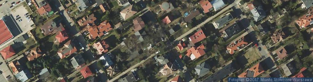 Zdjęcie satelitarne Studio Projektowania Wnętrz i Promocji Infini