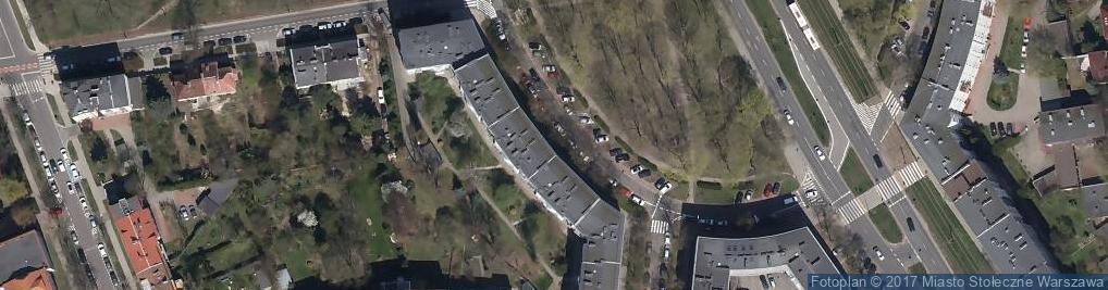 Zdjęcie satelitarne Svantek Sp. z o.o.