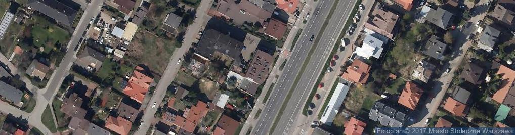 Zdjęcie satelitarne Świat Opon