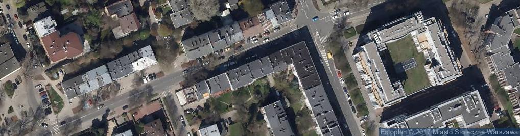 Zdjęcie satelitarne Szamanka