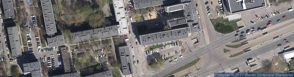 Zdjęcie satelitarne Taksówaka Osobowa