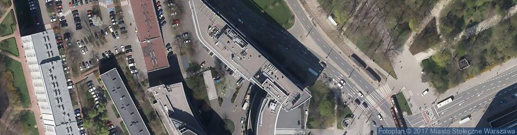Zdjęcie satelitarne Targo Promotion Warszawa