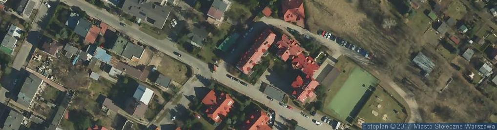 Zdjęcie satelitarne Taxi Osobowe Piotr Wierzejski