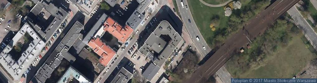 Zdjęcie satelitarne Teatr Ateneum