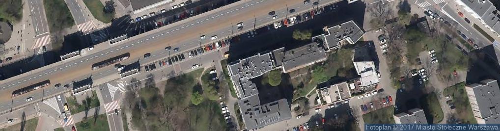 Zdjęcie satelitarne Thebrain Wspólnik Spółki Cywilnej