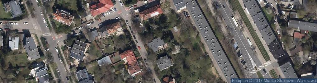 Zdjęcie satelitarne Tomasz Medyna Wspólnik Spółki Cywilnej - Cantec Tomasz Medyna, Renata Mistewicz