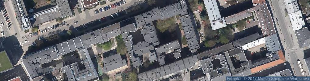 Zdjęcie satelitarne Towarzystwo Zapobiegania Narkomanii