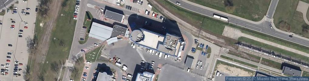 Zdjęcie satelitarne Tradevision Ab Przedstawicielstwo w Polsce