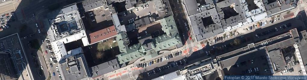 Zdjęcie satelitarne Trado